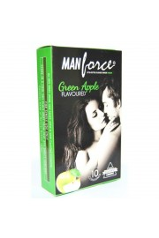 MANFORCE GREEN APPLE PACK OF 10