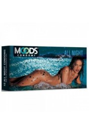 Moods All Night Condoms (Pack of 12)