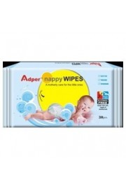 Adper Nappy Wipes ~ 30 Sheet Pouch - with aloe vera