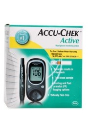 Accu - Chek Active Meter with 10 strips (+15 additional strips)