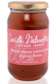 Societe Naturelle Lychee Honey - 500 Gms